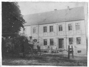 Obermühle Gottsdorf Schwarz Weiß